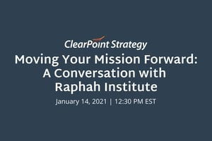 Moving Your Mission Forward: A Conversation with Raphah Institute