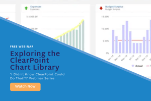 Exploring the ClearPoint Chart Library