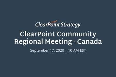 Canada Regional Meeting: A Recap