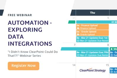 Data Integrations in ClearPoint