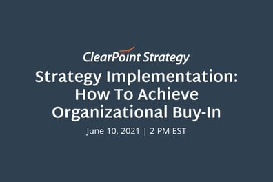 Achieving Organizational Buy-in: The Tale of Two Communities