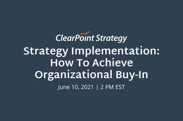 Strategy Implementation: How to Achieve Organizational Buy-in