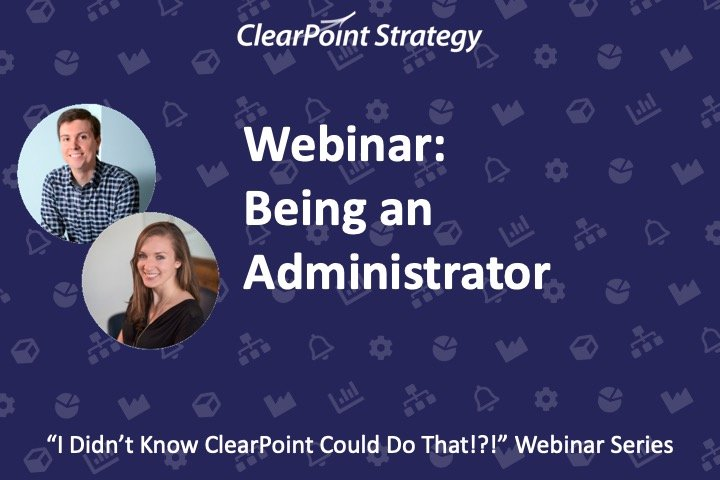 Being an Administrator