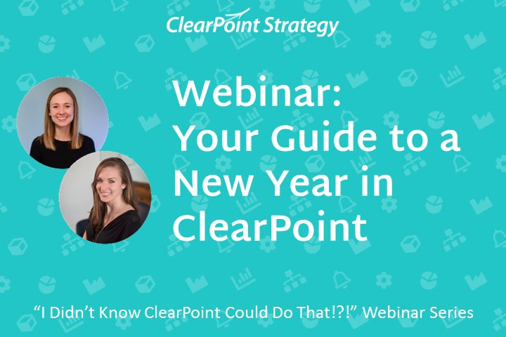 Your Guide to a New Year in ClearPoint