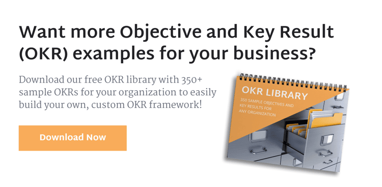 OKR Examples (& How To Track Them)