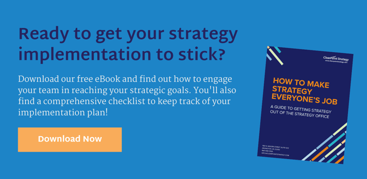 11 Expert Tips On Getting Your Strategy Implementation To Stick