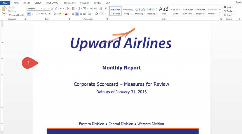 Adding a cover page or watermark to a briefing book - ClearPoint