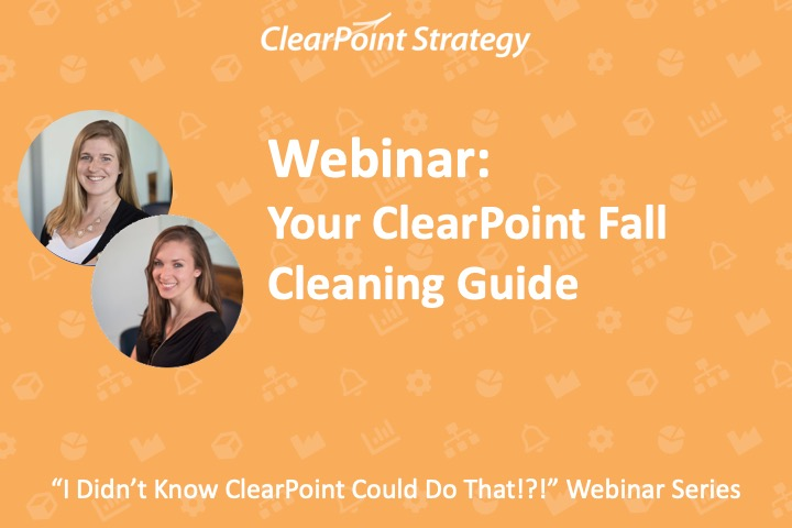 Your ClearPoint Fall Cleaning Guide