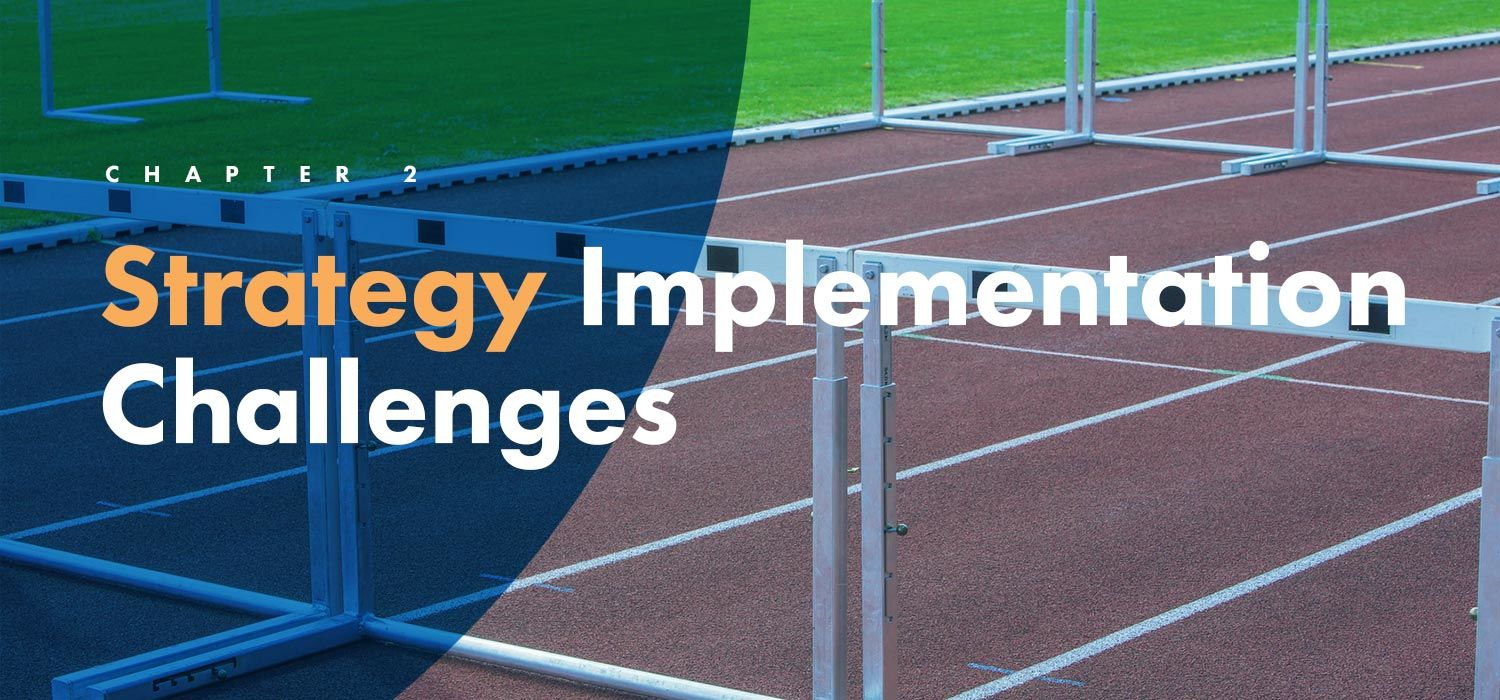Strategy implementation challenges