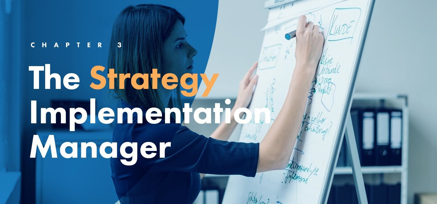 The strategy implementation manager