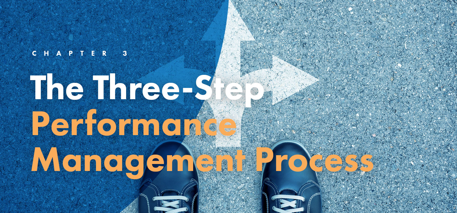 Chapter 3: The Three-Step Performance Management Process