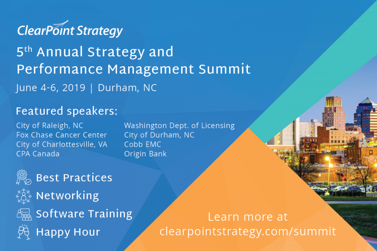 Why I Must Attend the ClearPoint Summit: A Three-Pronged Argument to Persuade your Boss