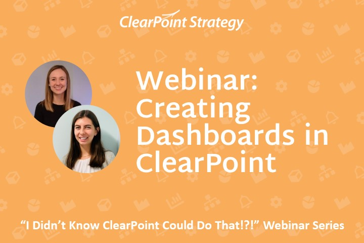 Creating Dashboards in ClearPoint
