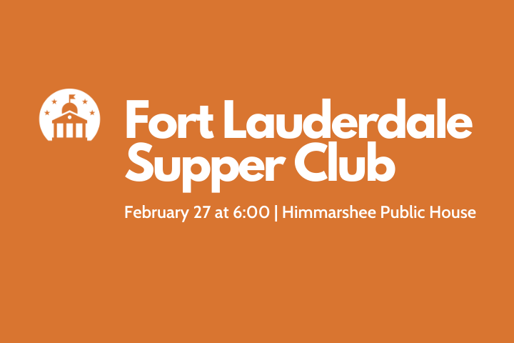 ELGL Supper Club: Fort Lauderdale