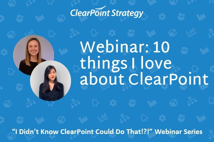 10 things I Love About ClearPoint