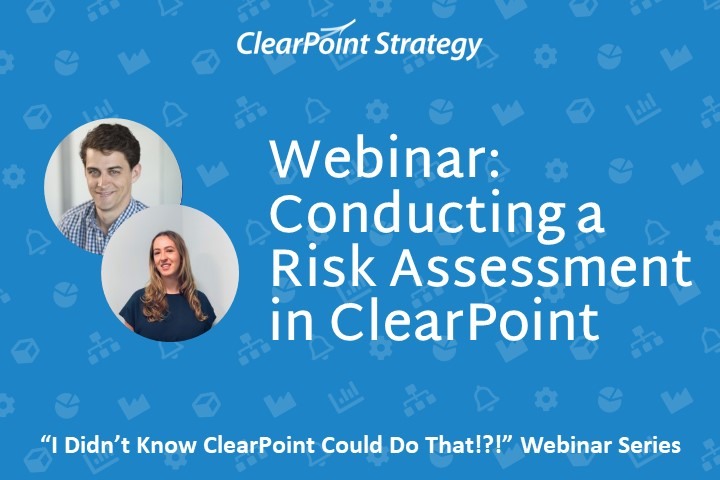 Conducting a Risk Assessment in ClearPoint