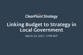 Linking Budget to Strategy Virtual Event Recap